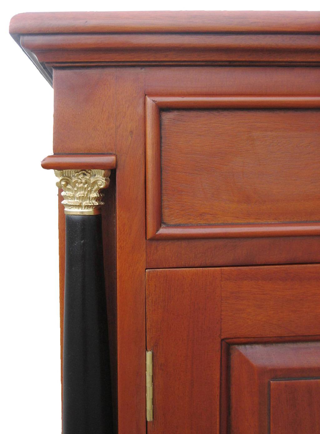 sideboard biedermeier antik anrichte stil kirsche massiv. Black Bedroom Furniture Sets. Home Design Ideas