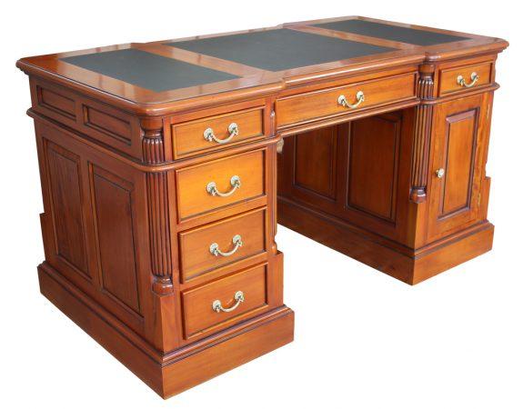 Schreibtisch antik Kirschbaum