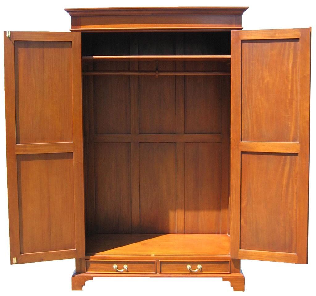 biedermeier schrank antik kirsche massiv garderobe. Black Bedroom Furniture Sets. Home Design Ideas