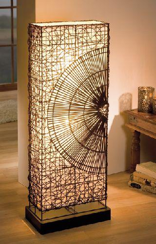 Stehlampe Biedermeier antik   Massiv Ambiente