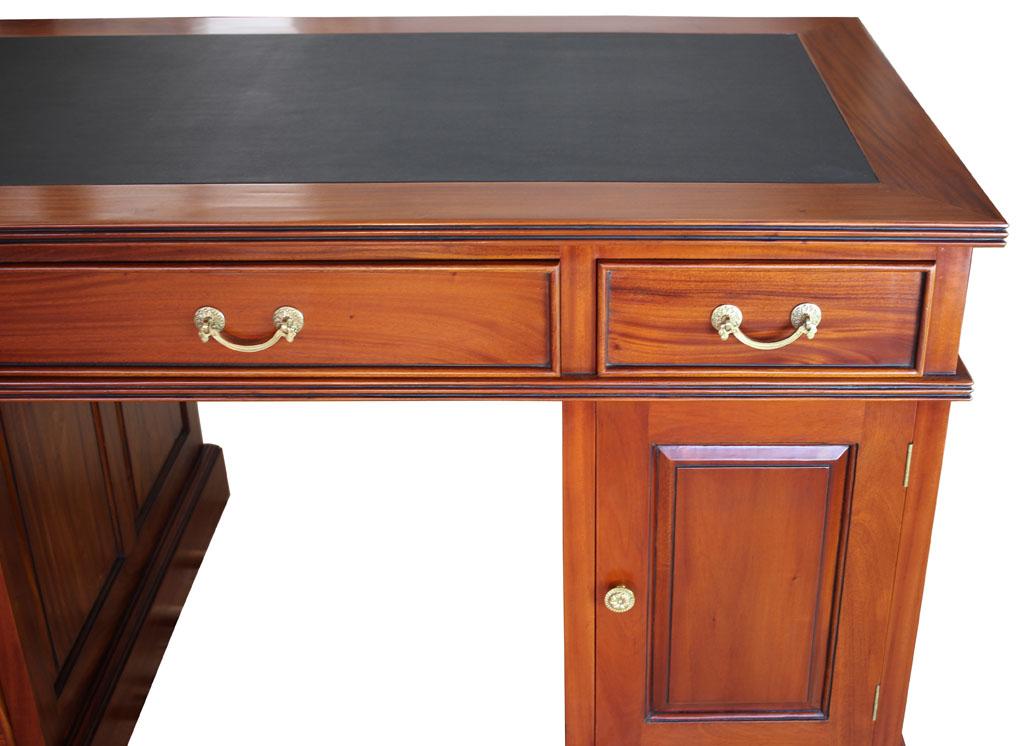 Schreibtisch antik englisch biedermeier kirsche massiv for Schreibtisch englisch