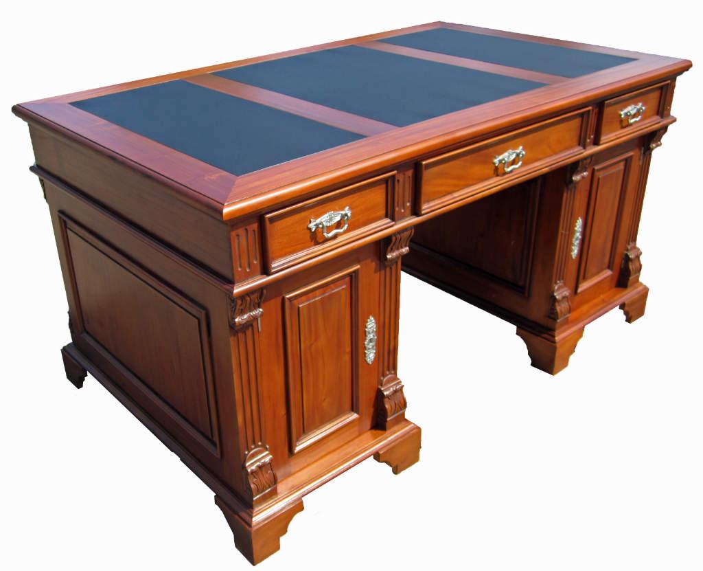 gr nderzeit schreibtisch antik kirsche massiv m bel. Black Bedroom Furniture Sets. Home Design Ideas