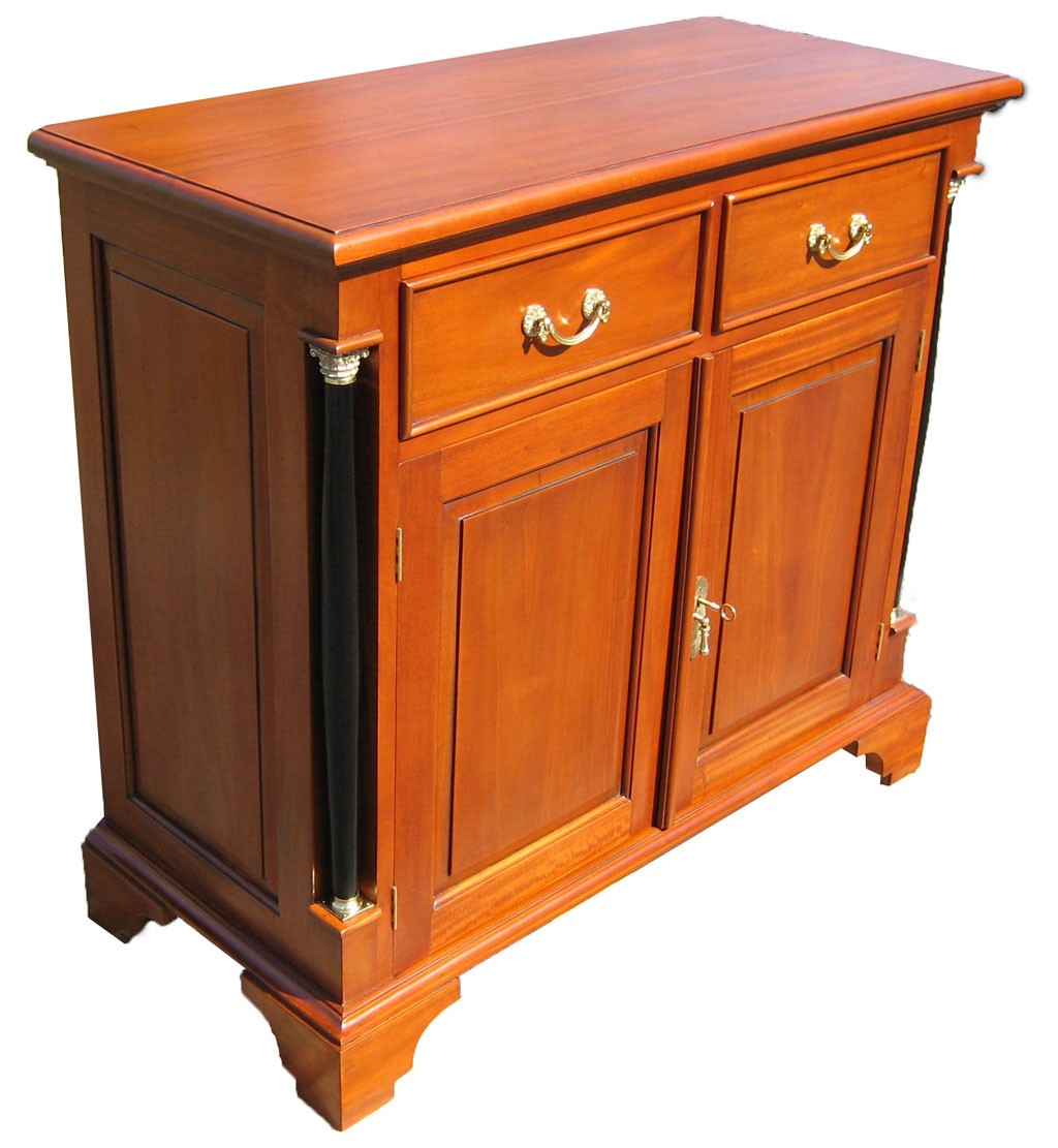 biedermeier sideboard kirsche anrichte antik massiv. Black Bedroom Furniture Sets. Home Design Ideas