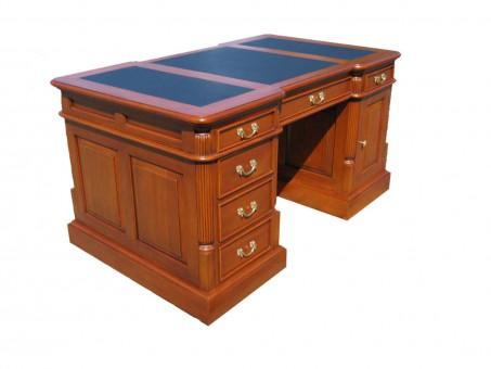 antik Schreibtisch Biedermeier von links