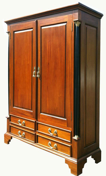 biedermeier vertiko stil kirsche massiv antik m bel. Black Bedroom Furniture Sets. Home Design Ideas