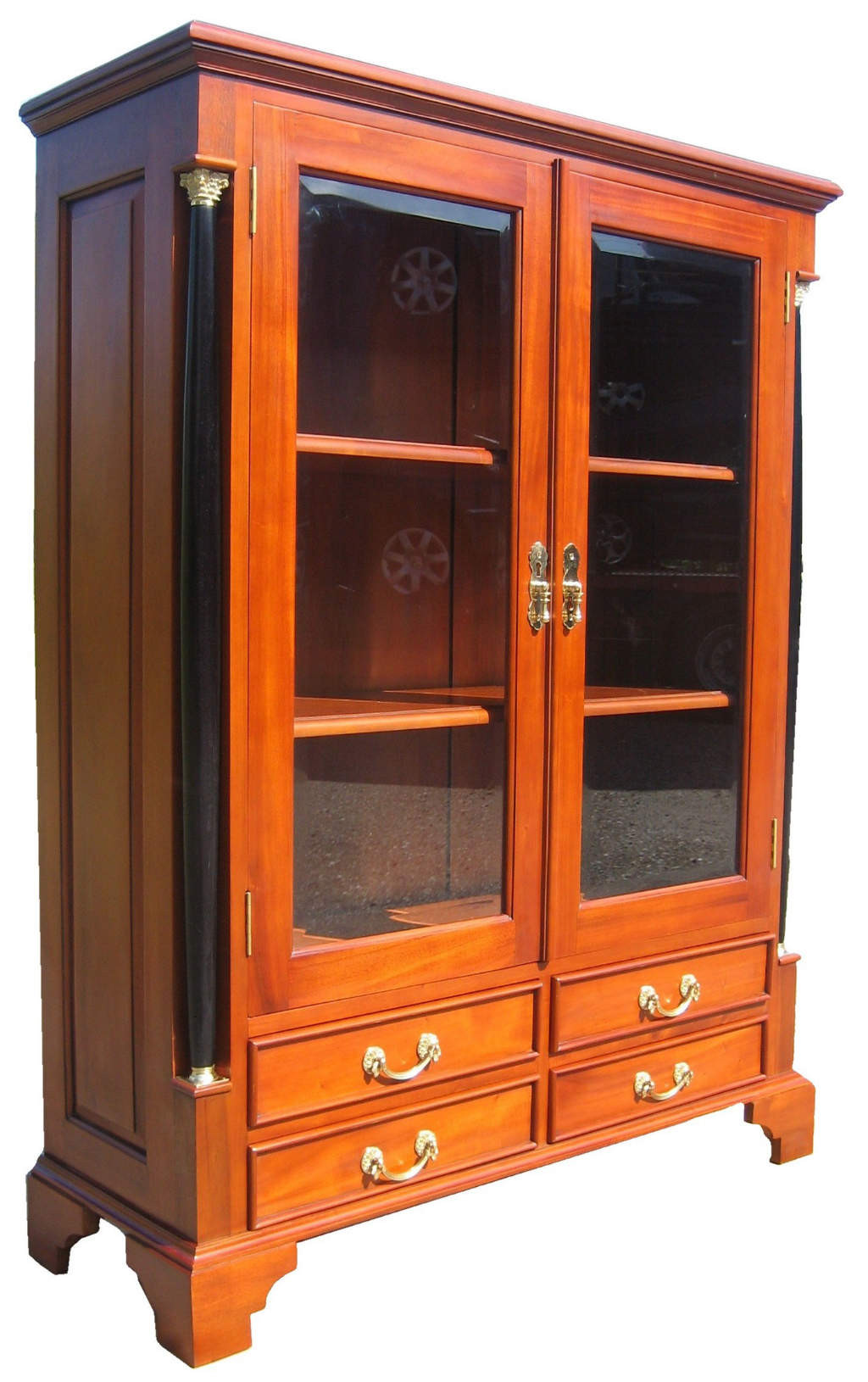 vertiko biedermeier m bel antik kirsche massiv. Black Bedroom Furniture Sets. Home Design Ideas