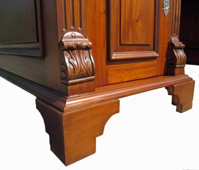 Gründerzeit Schreibtisch antik Detail Beine