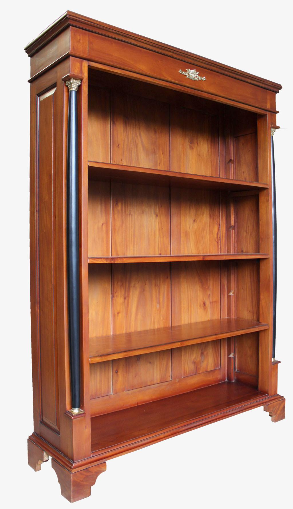 biedermeier regal kirsche m bel massiv antik. Black Bedroom Furniture Sets. Home Design Ideas