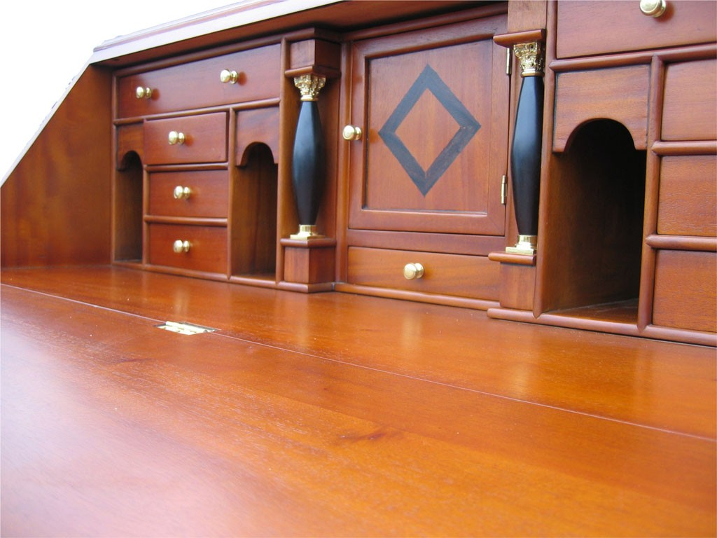 biedermeier sekret r antik kirsche m bel massiv. Black Bedroom Furniture Sets. Home Design Ideas