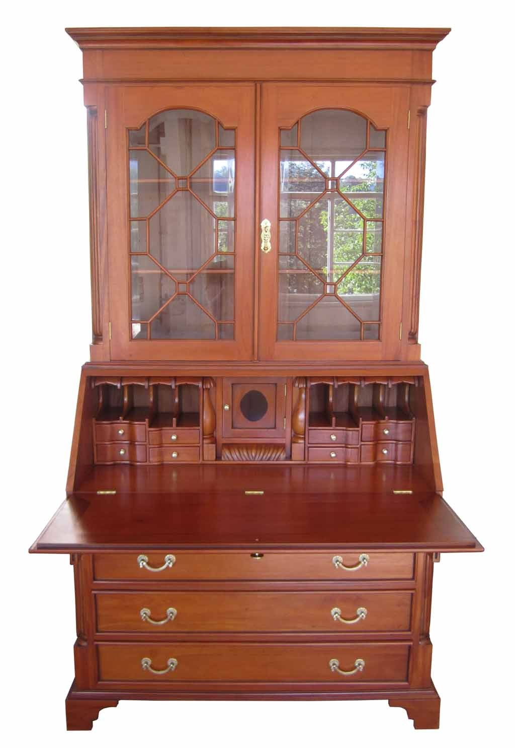 biedermeier sekret r antik massiv kirsche gr nderzeit. Black Bedroom Furniture Sets. Home Design Ideas
