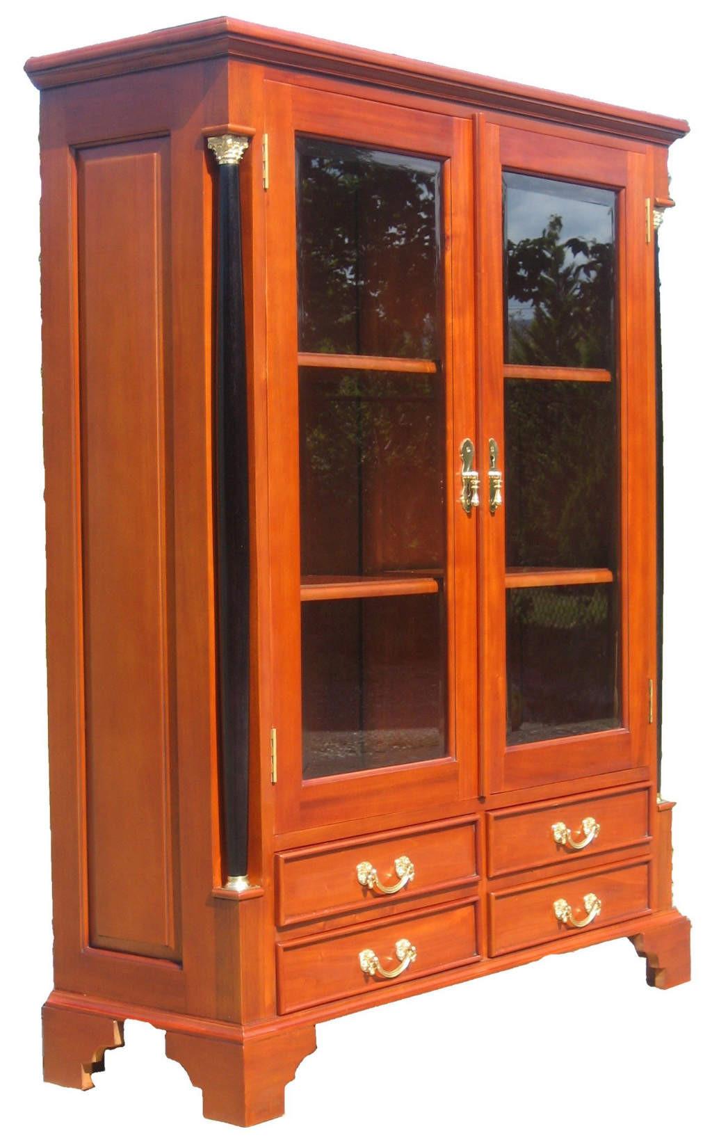 Vertiko Biedermeier Möbel | antik Kirsche massiv