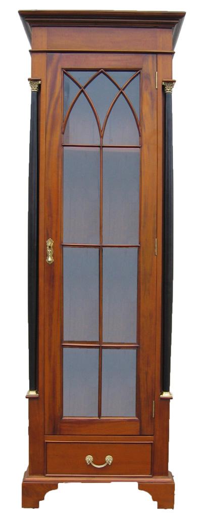 biedermeier vitrine kirsche antik massiv m bel. Black Bedroom Furniture Sets. Home Design Ideas