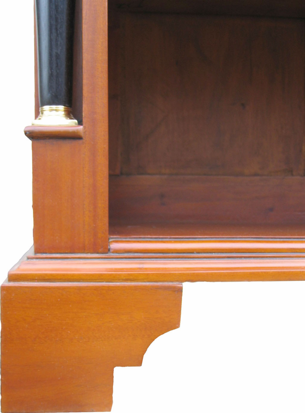 biedermeier regal massiv m bel kirsche antik. Black Bedroom Furniture Sets. Home Design Ideas