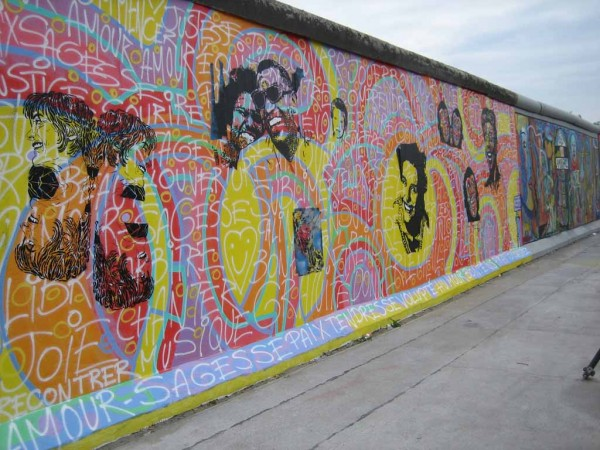 Berliner Mauer Impressionen East Side Gallery
