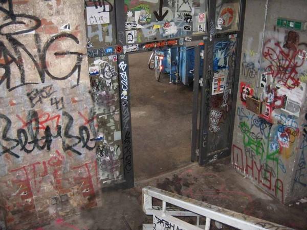 Berlin Tacheles Aufgang