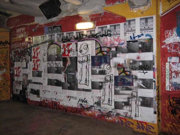 Tacheles Graffity Wand