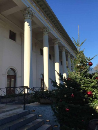 antik Biedermeier Kurhaus in Baden-Baden Weihnachten