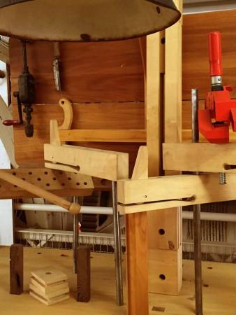 Werkzeuge für antik Schreiner Möbel Biedermeier