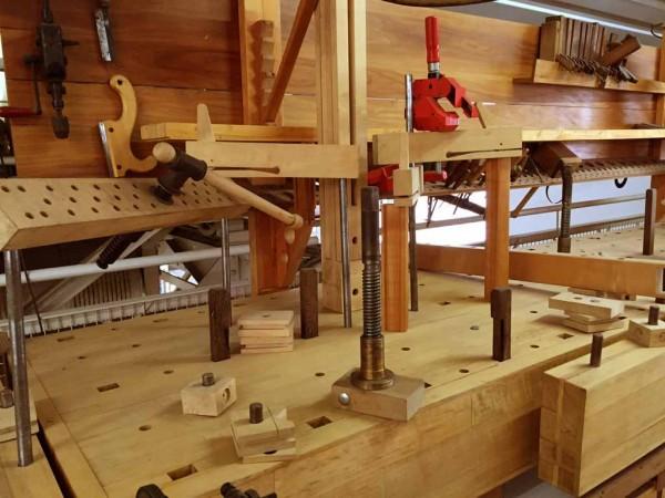Biedermeier Schreiner antik Werkstatt für Kirsche Möbel
