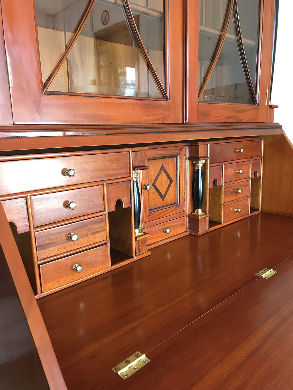 biedermeier sekret r antik massiv kirsche gr nderzeit. Black Bedroom Furniture Sets. Home Design Ideas
